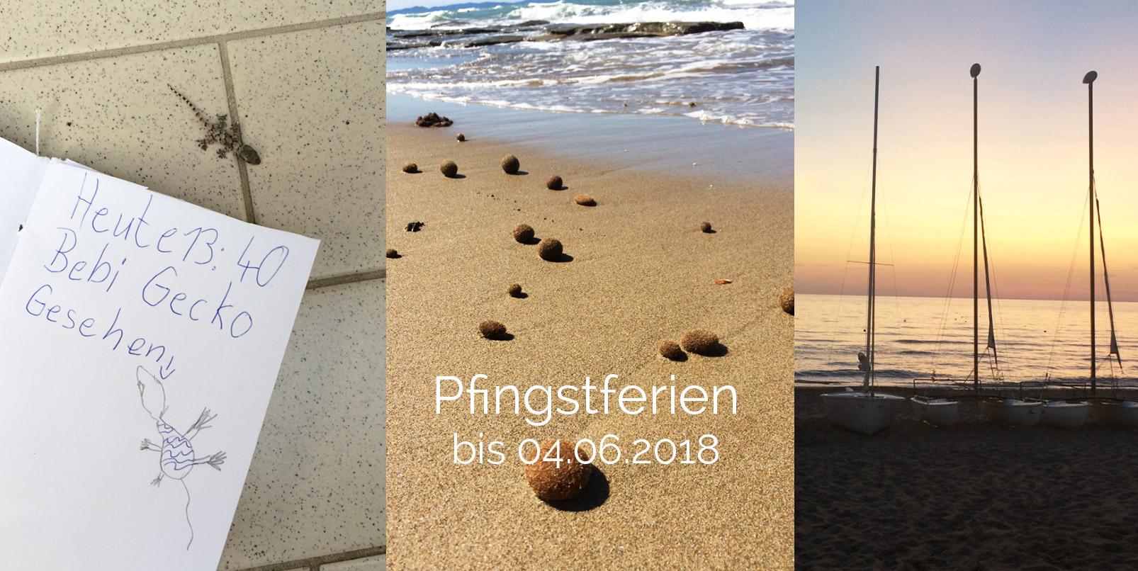 Urlaub bis 04.06.2018