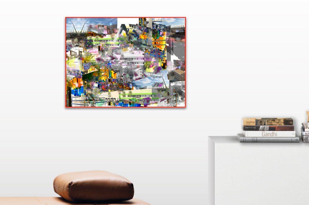 Kunstprojekt — Auftragsarbeit einer digitalen Collage